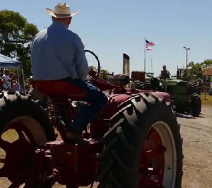 Texas Early Day Tractor Show