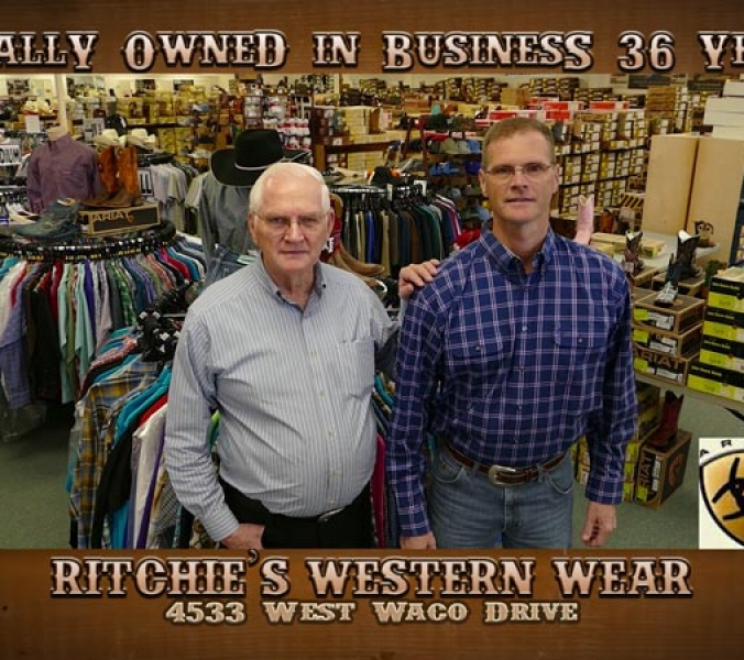 Ritchie's Western Wear 5×15 1014