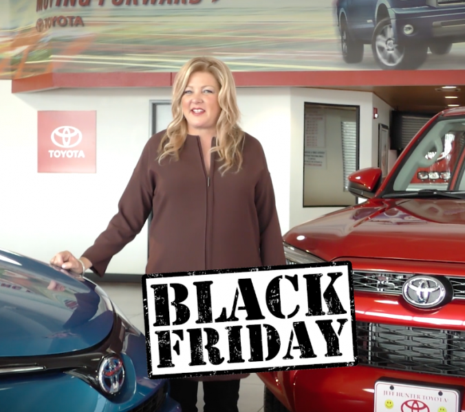 Rare MEDIA Well Done – Jeff Hunter Toyota – Black Friday Pricing