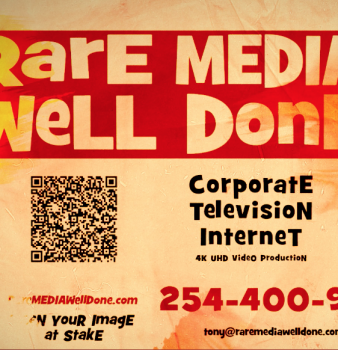 Rare MEDIA Well Done, LLC demo 2018